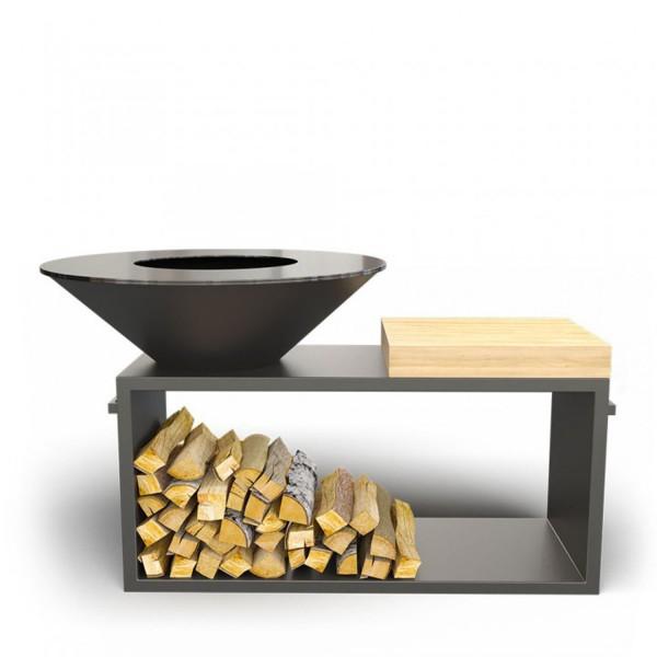 Купить Дровяной гриль-мангал AHOS PRO, черный - AHOS_PRO_BL в магазине Grill Point
