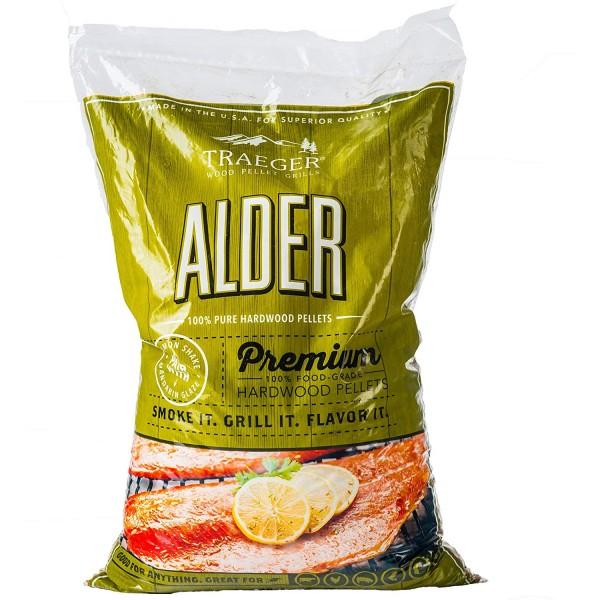 Купить Пеллеты TRAEGER Ольха 9 кг - ALDER_PELLETS в магазине Grill Point
