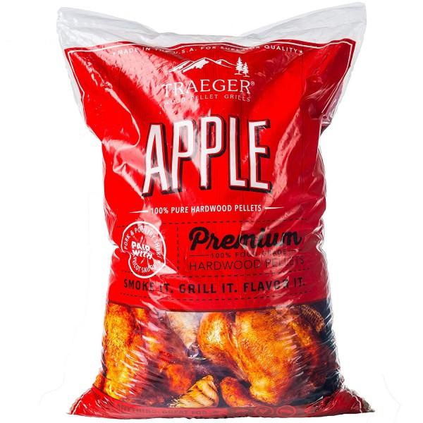 Купить Пеллеты TRAEGER Яблоко 9 кг - APPLE_PELLETS в магазине Grill Point