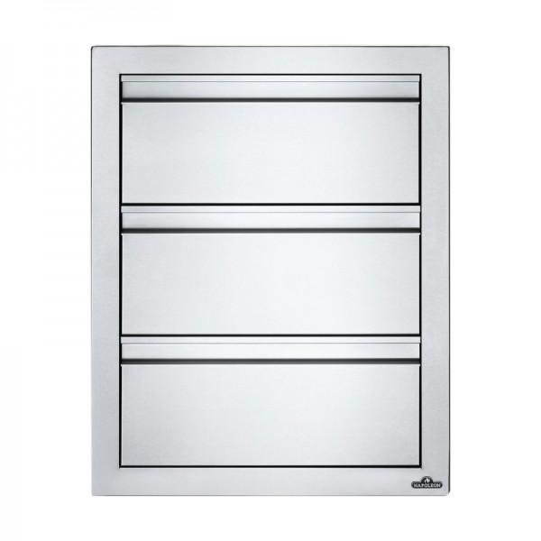 Купить Встраиваемый элемент с 3-мя выдвижными ящиками 46х61 см  Napoleon - BI-1824-3DR в магазине Grill Point