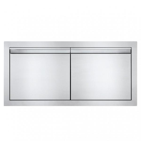 Купить Встраиваемая дверь двустворчатая, поперечная 91х41  Napoleon - BI-3616-2D в магазине Grill Point