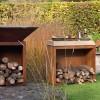 Тумба-стол OFYR c отсеком для хранения дров, большая - Butcher-storage-big фото_1