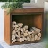 Тумба-стол OFYR c отсеком для хранения дров, большая - Butcher-storage-big фото_3