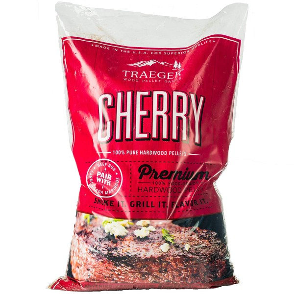 Купить Пеллеты TRAEGER Вишня 9 кг - CHERRY_PELLETS в магазине Grill Point