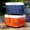 Переносной угольный гриль Everdure Cube, оранжевый - Cube_O фото_3