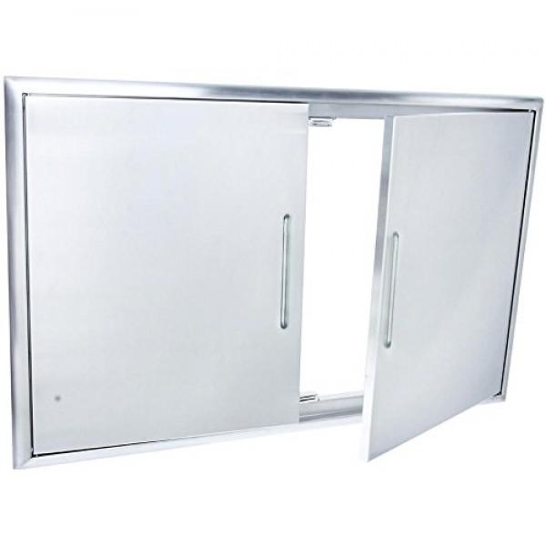 Купить Встраиваемые двойные дверцы SABER Double Access Door - K00AA2414 в магазине Grill Point