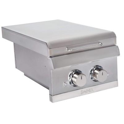 Встраиваемая боковая конфорка на две горелки SABER ELITE SSE Dual Built-in Side Burner