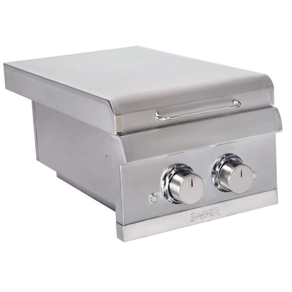Купить Встраиваемая боковая конфорка на две горелки SABER ELITE SSE Dual Built-in Side Burner - K00SB5317 в магазине Grill Point