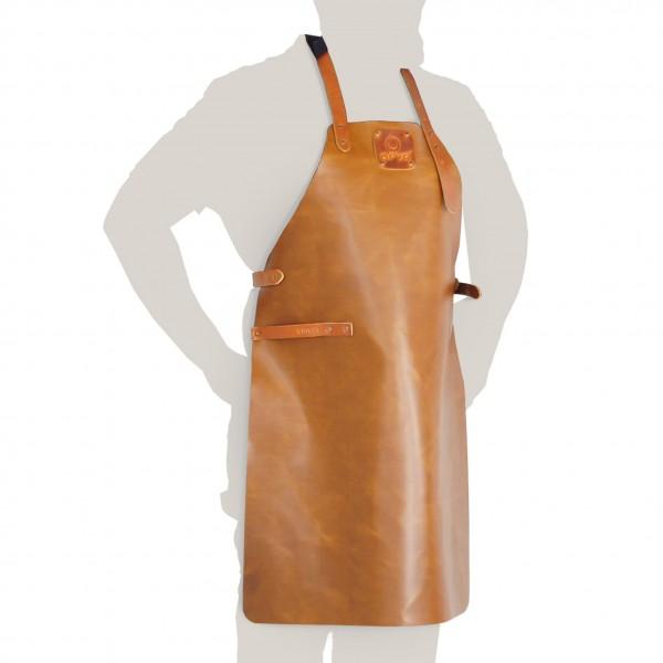 Купить Кожаный фартук для гриля OFYR - Leather-apron в магазине Grill Point