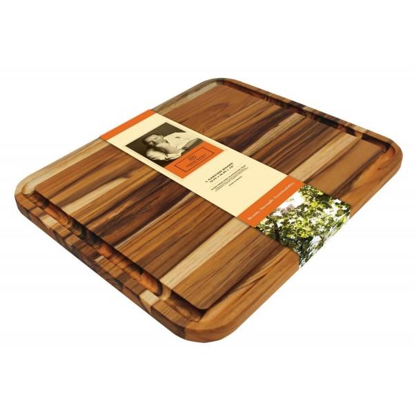 Купить Доска разделочная тиковая Madeira 34,9 х 41,3 - M-04 в магазине Grill Point