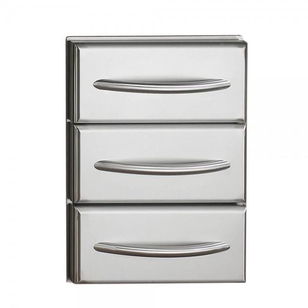 Купить Встраиваемый шкаф с 3-я выдвижными полками из нержавеющей стали - N370-0360 в магазине Grill Point