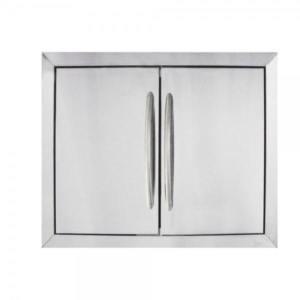 Купить Комплект дверей из нержавеющей стали 0502 - N370-0502-1 в магазине Grill Point