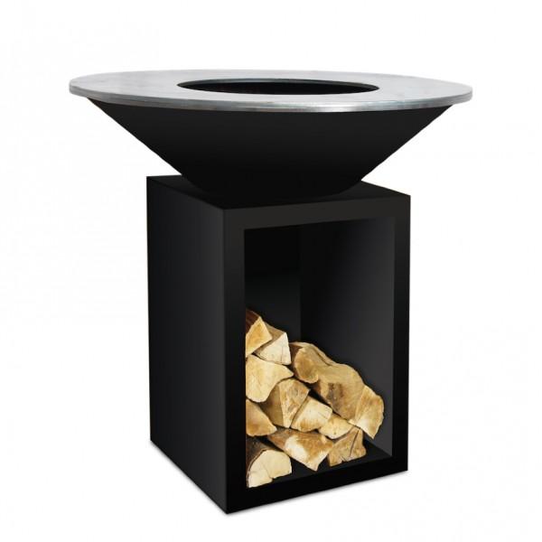 Купить Дровяной гриль-очаг OFYR  STORAGE 100 Black - OFYR-STORAGE-BLACK в магазине Grill Point