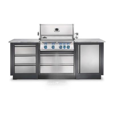 Конфигурация летней уличной кухни Napoleon Oasis-100