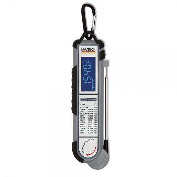 Купить Цифровой противоударный, водонепроницаемый термометр Maverick PT-100BBQ - PT-100BBQ в магазине Grill Point