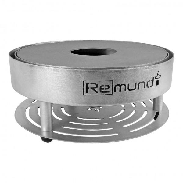 Купить Портативный угольный гриль Remundi Pirus Black - Pirus_Black в магазине Grill Point