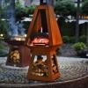 Печь для пиццы на дровах Quan, черный - QN91151 фото_1