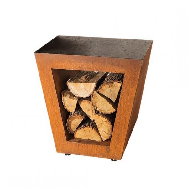 Купить Столик приставной Quan Quadro Premium Corten - QN91168 в магазине Grill Point