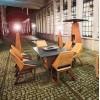 Комплект стол с грилем Quan, на 6 персон, коричневый - QN93063 фото_1