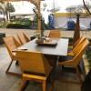 Комплект стол с грилем Quan, на 6 персон, коричневый - QN93063 фото_3