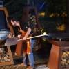 Стелаж для хранения дров Quan Premium, ржавый - QN93124 фото_2