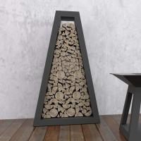 Стелаж для хранения дров Quan Premium, черный