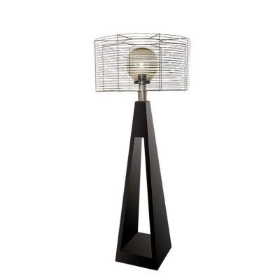 Светильник Quan, черный, 190 см