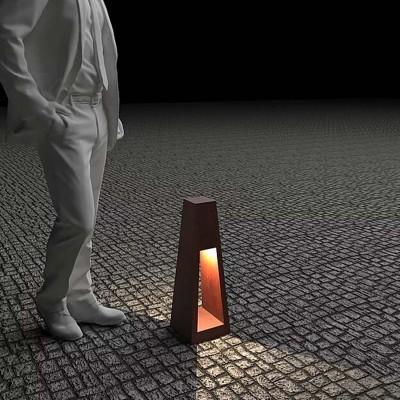 Светильник с внутренним освещением Quan, коричневый, 60 см