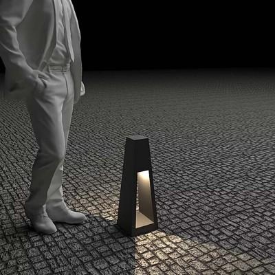 Светильник с внутренним освещением Quan, черный, 60 см
