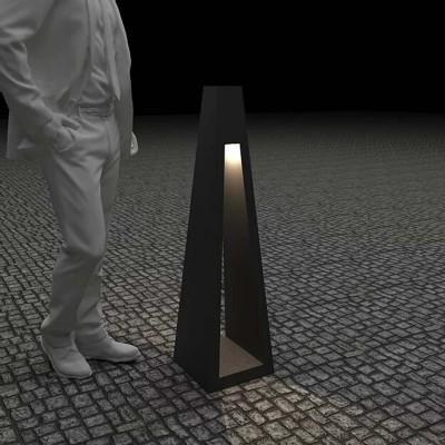 Светильник с внутренним освещением Quan, черный, 110 см
