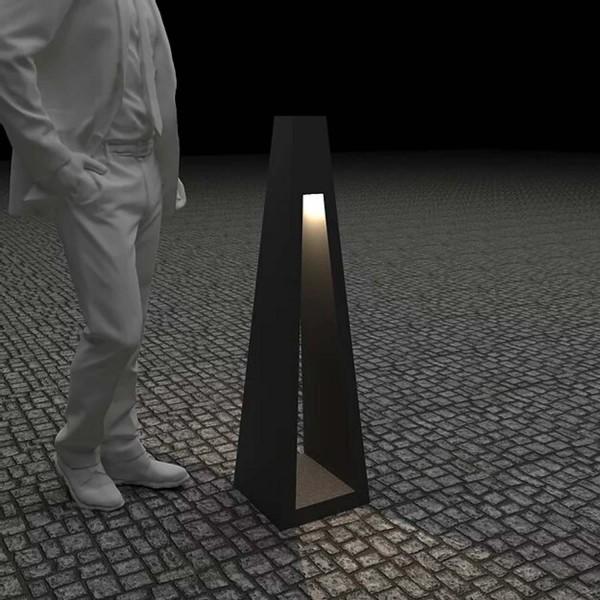 Купить Светильник с внутренним освещением Quan, черный, 110 см - QN94459 в магазине Grill Point