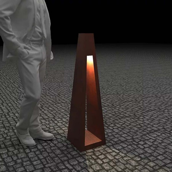 Купить Светильник с внутренним освещением Quan, коричневый, 110 см - QN94510 в магазине Grill Point