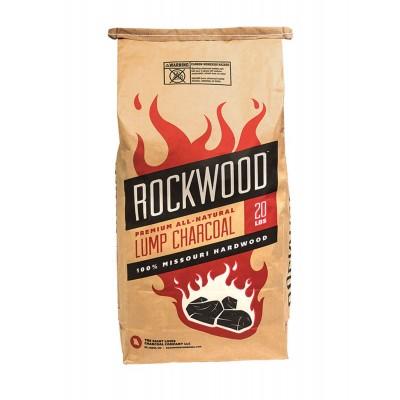 Древесный американский уголь для гриля Rockwood, 9,1 кг.