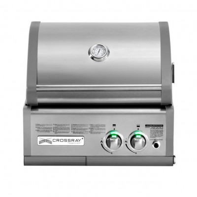 Встраиваемый газовый инфракрасный гриль CROSSRAY® 2 by Heatstrip