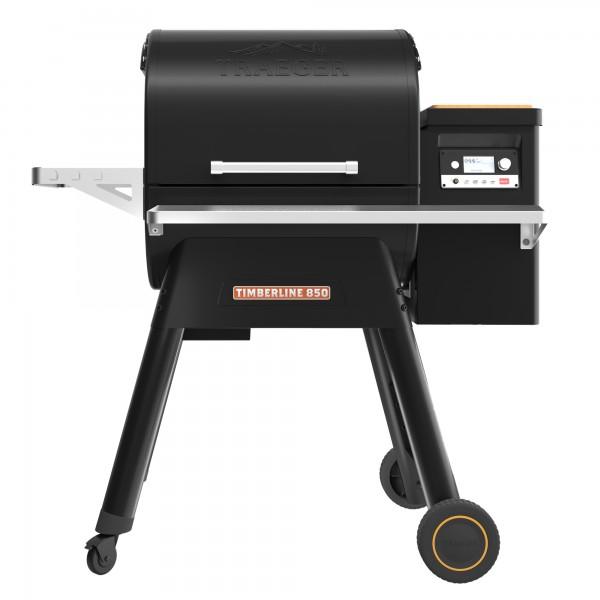 Купить Пеллетный гриль TRAEGER TIMBERLINE D2 850, черный - TIMBERLINE_D2-850 в магазине Grill Point