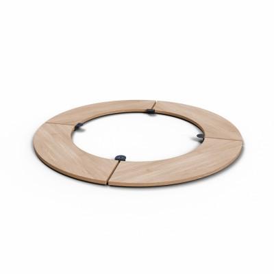 Съемный круглый стол для барбекю мангала UNO+.