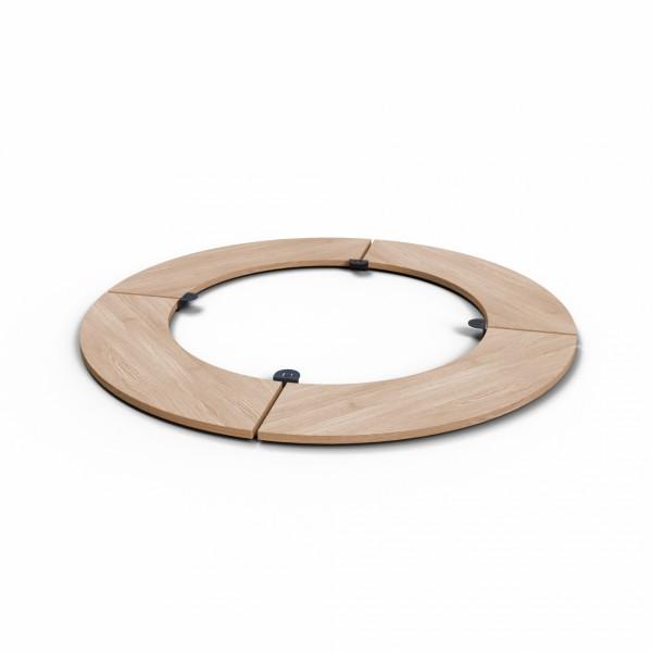 Купить Съемный круглый стол для барбекю мангала UNO+. - UNO_TABLE в магазине Grill Point