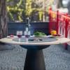 Съемный круглый стол для барбекю мангала UNO+. - UNO_TABLE фото_4