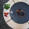 Съемный круглый стол для барбекю мангала UNO+. - UNO_TABLE фото_3