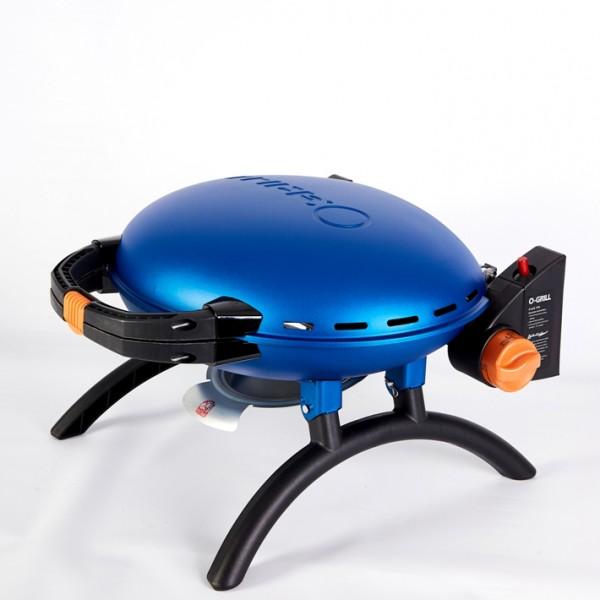 Купить Переносной газовый гриль O-GRILL 500, синий - o-grill_500_siniy в магазине Grill Point