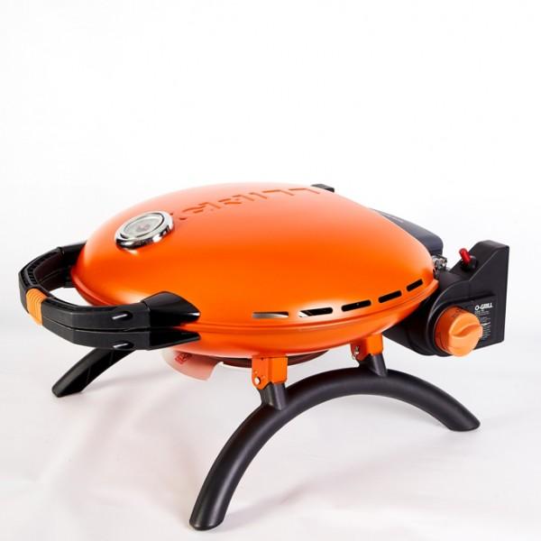 Купить Переносной газовый гриль O-GRILL 700T, оранжевый - o-grill_700T_oranzhevyiy в магазине Grill Point