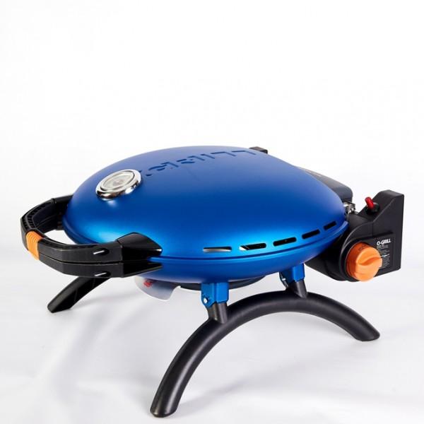 Купить Переносной газовый гриль O-GRILL 700T, синий - o-grill_700T_siniy в магазине Grill Point