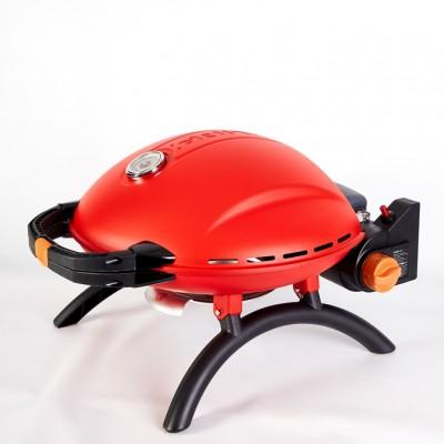 Переносной газовый гриль O-GRILL 800T, красный