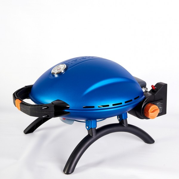 Купить Переносной газовый гриль O-GRILL 800T, синий - o-grill_800T_siniy в магазине Grill Point