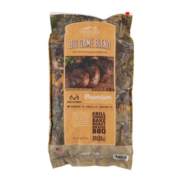 Купить Пеллеты для гриля Traeger Realtree Big Game Blend Wood Pellets - pellety_traeger в магазине Grill Point